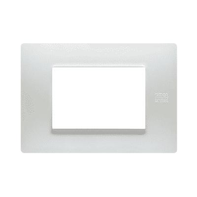 Placca Nea Flexa SIMON URMET 3 moduli bianco