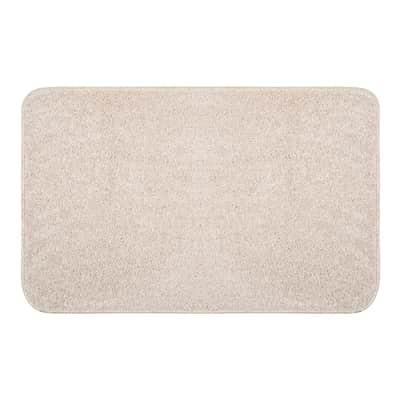 Tappeto bagno rettangolare Van gogh in cotone ecrù 80 x 50 cm
