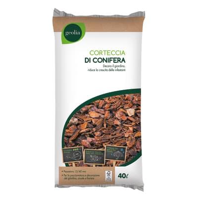 Corteccia di conifera GEOLIA di conifere 40 L