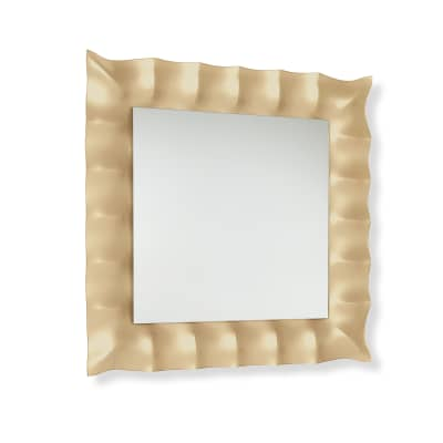 Specchio non luminoso bagno quadrata Marlena L 94 x H 94 cm