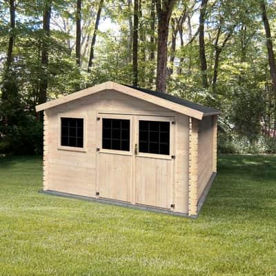 Casetta da giardino in legno Azalea 9.05 m² spessore 28 mm