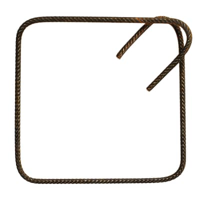 Staffa per gabbia diam.8 in ferro L 0.025 m x