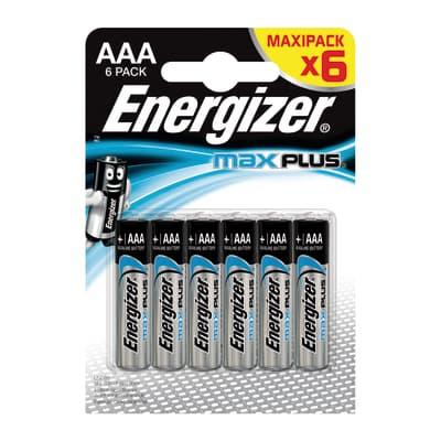 Pila LR03 AAA ENERGIZER Max Plus 6pz 6 batterie