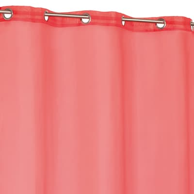 Tenda Essential rosso occhielli 140 x 260 cm