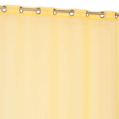 Tenda Althea giallo occhielli 140x260 cm