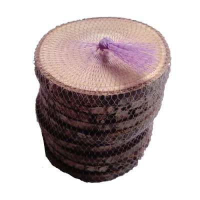 Rondella tondo in castagno verniciato 1 mm Ø 10 mm10 pezzi