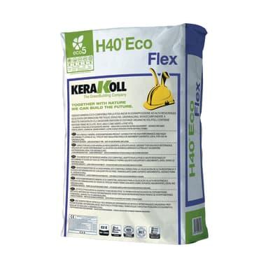 Colla in polvere H40 Flex KERAKOLL 25 kg grigio