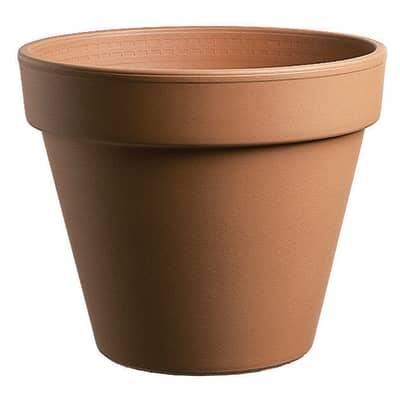 Vaso Pollicino in terracotta colore cotto H 5 cm, Ø 5 cm
