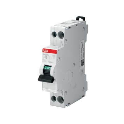 Interruttore magnetotermico ABB ELSN201LC10 1P+N 10A 4.5kA C 1 modulo 230V