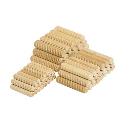 Spine di giunzione WOLFCRAFT in legno  x 40 mm Ø 10 mm
