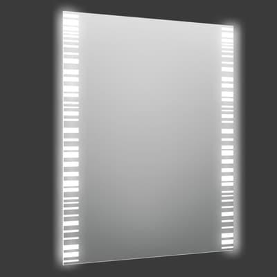Specchio con illuminazione integrata bagno rettangolare Trattix L 60 x H 80 cm