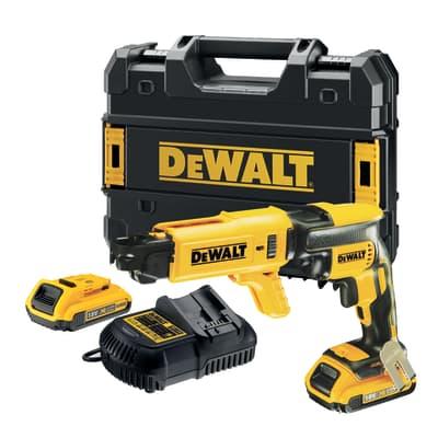 Avvitatore a batteria DEWALT DCF620D2K-QW 18 V, 2.0 Ah, 1 batteria