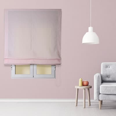 Tendina pieghevole in tessuto INSPIRE Aire rosa 120x175 cm