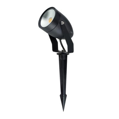 Proiettore LED integrato Sting in alluminio, nero, 9W 590LM IP65