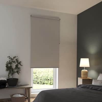 Tenda a rullo INSPIRE Tokyo oscurante beige 165x250 cm