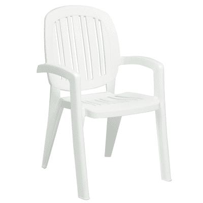 Sedia Creta colore bianco