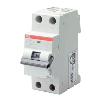 Interruttore magnetotermico differenziale ABB DS201 L 1 polo 16A 4.5kA 300mA 2 moduli