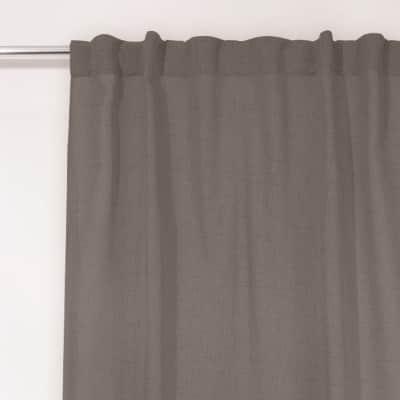 Tenda Coloso grigio fettuccia con passanti nascosti 135 x 280 cm