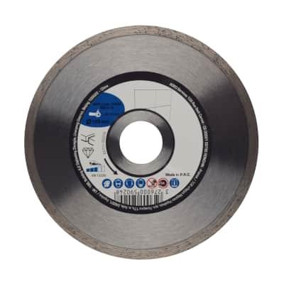 Disco diamantato con corona continua continuo Ø 125 mm