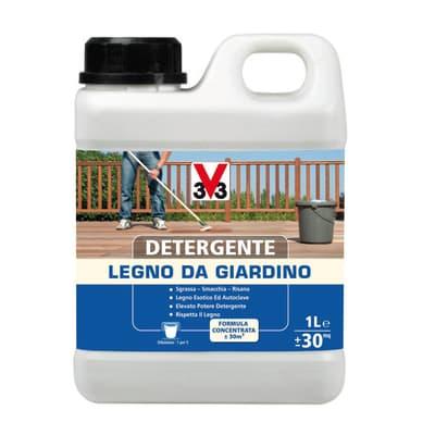 Detergente per legno V33 da giardino incolore 1 L