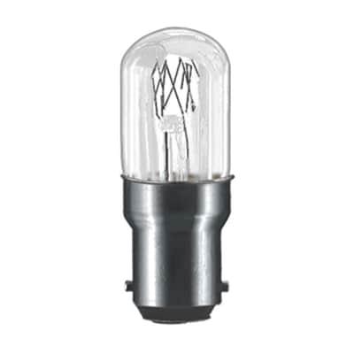 Lampadina Alogena, B15, Bulbo, Trasparente, Luce calda, 15W=75LM (equiv 15 W), 180° , PAULMANN