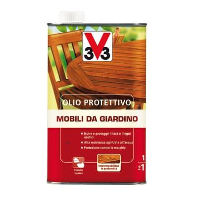 Olio V33 Mobili da giardino per esterno / interno 1 L
