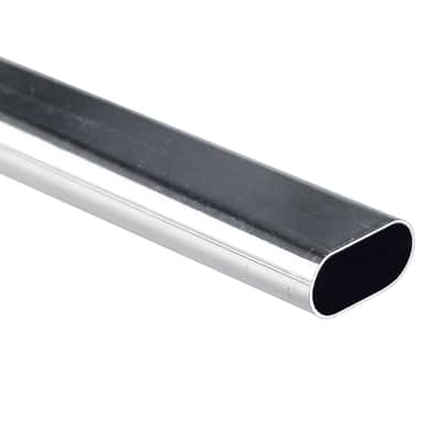 Tubo appendiabiti L 3 x P 1.5 cm grigio / argento