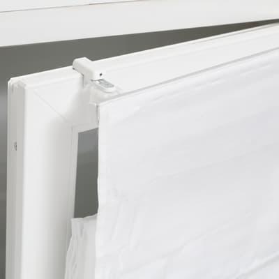 Supporto senza fori bianco in alluminio