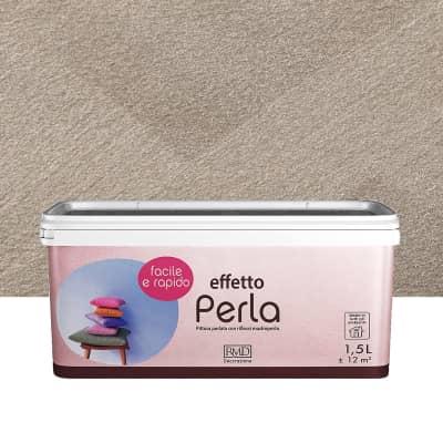 Pittura decorativa RMD DECORAZIONE Perla 1.5 l bianco creta madreperla