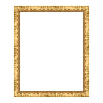Cornice Dalia oro per foto da 40x50 cm