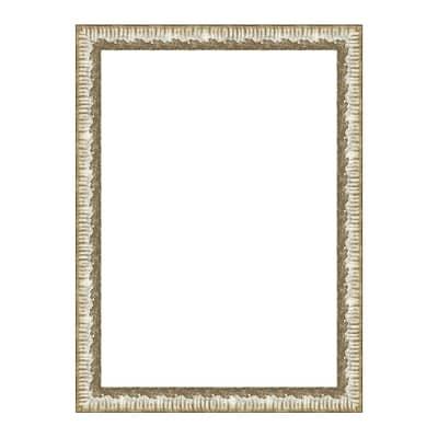 Cornice Dalia argento per foto da 35x50 cm