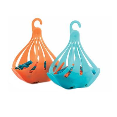 Mollette per biancheria Cigno polietilene multicolore, confezione da 1