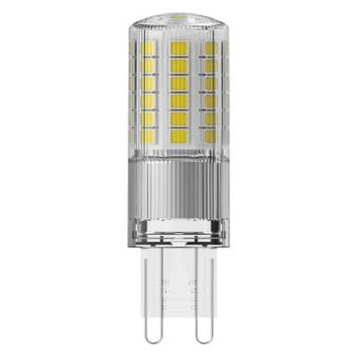 Lampadina LED, G9, Capsula, Trasparente, Luce calda, 4.8W=600LM (equiv 50 W), 320° , OSRAM