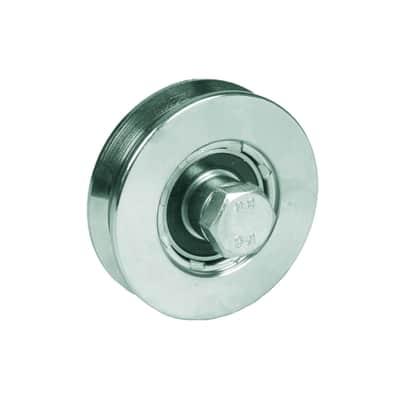 Ruota in acciaio x H 6 cm