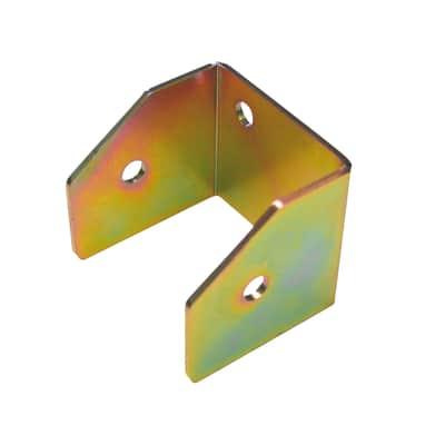 Supporto per palo Staffa in acciaio L 10x H 9