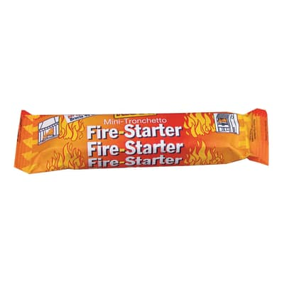 Accendifuoco Fire starter di legna e paraffina 24 pezzi
