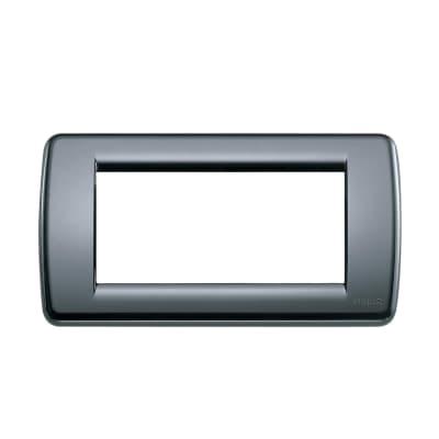 Placca VIMAR Idea 4 moduli grigio grafite