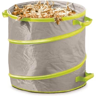 Sacchi spazzatura H 30 cm 166 L beige - verde