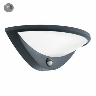 Applique Belcreda con sensore di movimento, in alluminio, antracite, 9.3W 1200LM IP44 EGLO