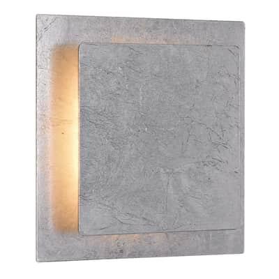 Applique moderno Fey LED integrato argento, in metallo, ACTION