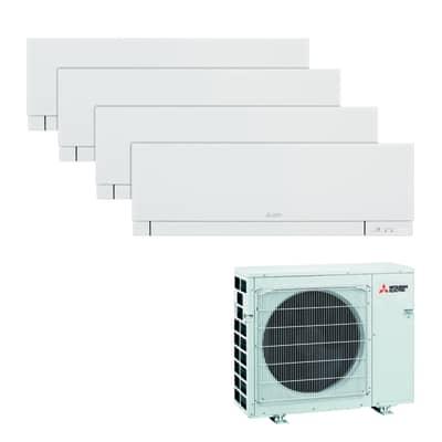 Climatizzatore quadrisplit MITSUBISHI Kirigamine 9000 BTU