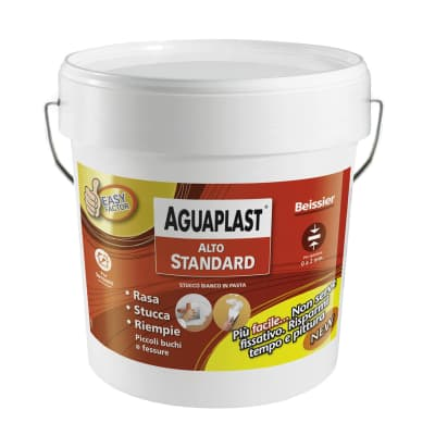 Stucco in pasta AGUAPLAST Alto Standard 6 kg bianco
