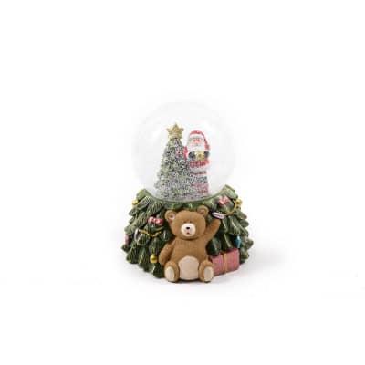 Figura natalizia multicolore