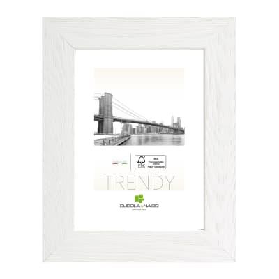 Cornice Varenna bianco per foto da 25x35 cm