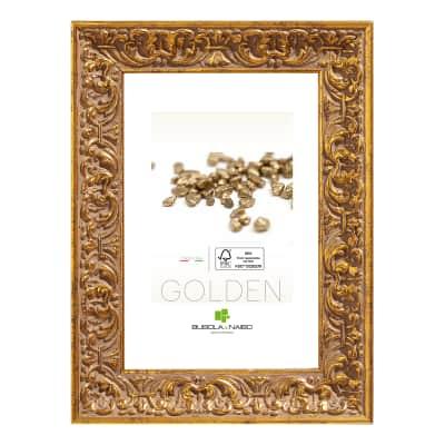 Cornice Amber dorato per foto da 50x70 cm