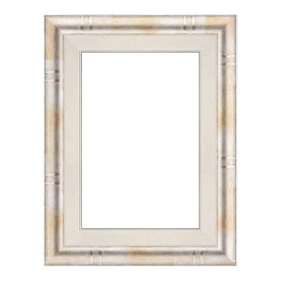 Cornice Tamara argento per foto da 25x35 cm