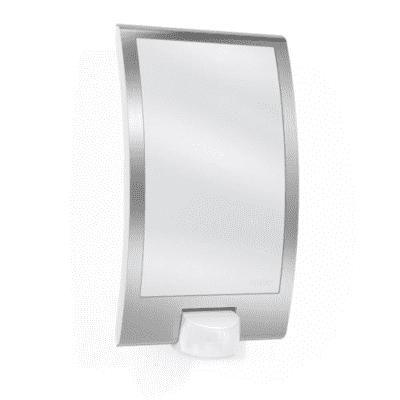 Applique L 22 S con sensore di movimento, inox, E27 MAX60W IP44 STEINEL