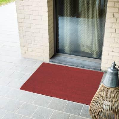 Zerbino Red in cocco rosso 60x100 cm
