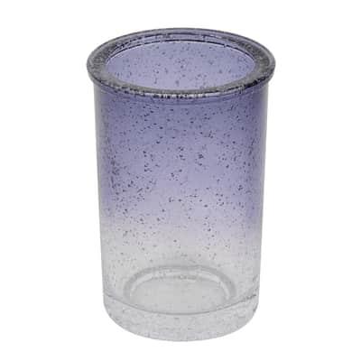 Bicchiere porta spazzolini Atmosphere in vetro trasparente