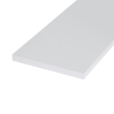 Ripiano melaminico ARTENS 60 x 20 cm Sp 18 mm , bianco